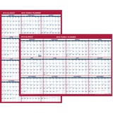 At-A-Glance Reversible Paper Yearly Wall Planner