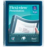 Avery Flexi-View Binders with Round Rings