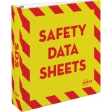 Avery Safety Data Sheets Binder