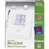 Avery Recycled Economy Weight Sheet Protectors