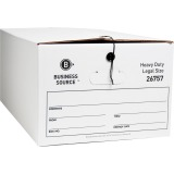 Business Source String/Button Med-dty Storage Box