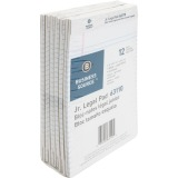 Business Source Micro - Perforated Legal Ruled Pads - Jr.Legal