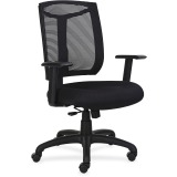Lorell Mesh Back Chair with Air Grid Fabric Seat