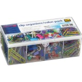 OIC Flip Lid Clip Organizer Value Pack