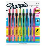 Sharpie Smear Grd Retractable Highlighters