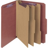 Smead Pressboard Classification Folders with SafeSHIELD® Coated Fastener Technology