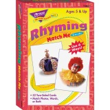 Trend Rhyming Words Match Me Flash Cards