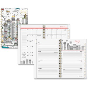 At-A-Glance Cityscape Academic Weekly/Monthly Planner