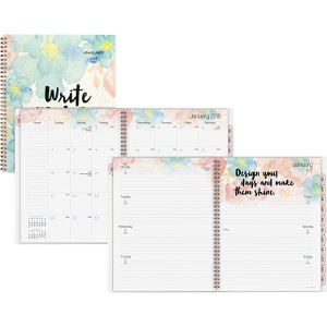 At-A-Glance B-Positive Large Weekly/Monthly Planner