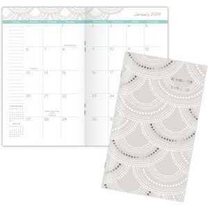 At-A-Glance Serene Scallops 2-year Pocket Planner