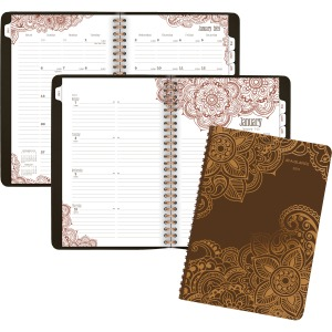 At-A-Glance Henna Premium Wkly/Mthly Planner