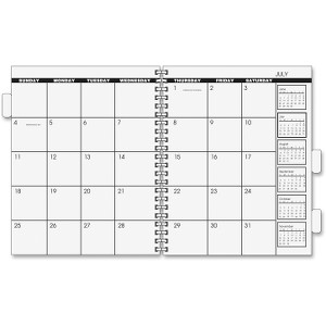 At-A-Glance Monthly Refill for 3-Year/5-Year Planner