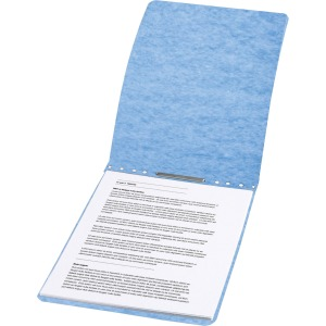 "ACCO® PRESSTEX® Report Covers, Top Binding for Letter Size Sheets, 2"" Capacity, Light Blue"