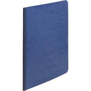 "ACCO® PRESSTEX® Report Covers, Side Binding for Letter Size Sheets, 3"" Capacity, Dark Blue"