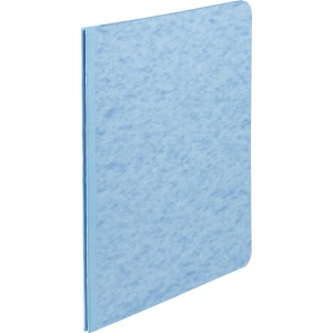 "ACCO® Pressboard Report Covers, Side Binding for Letter Size Sheets, 3"" Capacity, Light Blue"