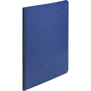 "ACCO® Pressboard Report Covers, Side Binding for Letter Size Sheets, 3"" Capacity, Dark Blue"