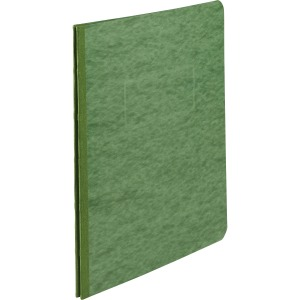 "ACCO® Pressboard Report Covers, Side Binding for Letter Size Sheets, 3"" Capacity, Dark Green"