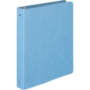 "Wilson Jones® PRESSTEX® Ring Binder, Round Ring, 1"", Light Blue"