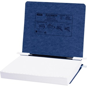 "ACCO® PRESSTEX® Covers w/ Hooks, Unburst 11"" x 8 1/2"" Sheets, Dark Blue"
