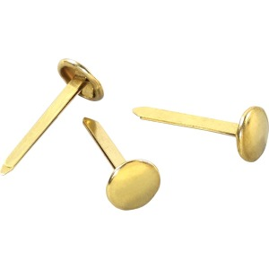 "ACCO® Brass Fasteners, 1"", Box of 100"