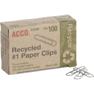 ACCO® Recycled Paper Clips