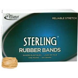 Alliance Rubber 24125 Sterling Rubber Bands - Size #12