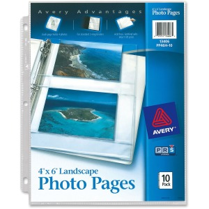 Avery Photo Storage Pages
