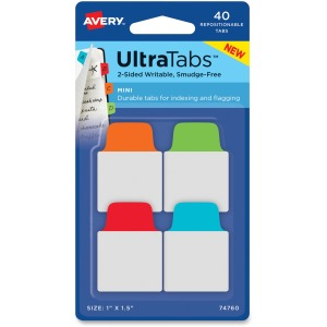 Avery UltraTabs Repositionable Mini Tabs