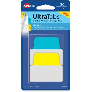 Avery UltraTabs Repositionable Big Tabs