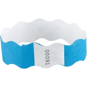 SICURIX Wavy Wristbands with Adhesive