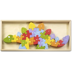 BeginAgain Toys Dinosaur A to Z Puzzle