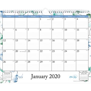Blue Sky Lindley Wall Calendar
