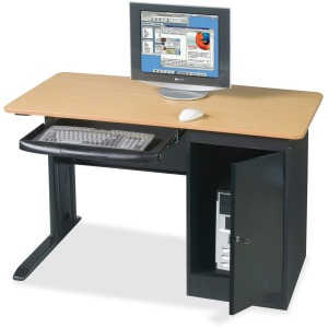 MooreCo Locking Computer Workstation