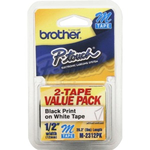 Brother Adhesive Non-laminated Labelmaker Label
