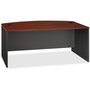 Bush Business Furniture Series C 72W Bow Front Desk Shell