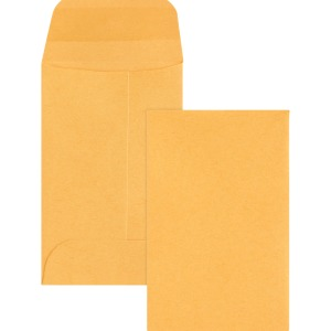 Business Source Small Coin Kraft Envelopes