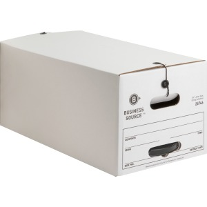 Business Source Medium Duty Letter-sz Storage Box