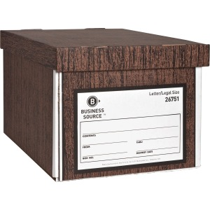 Business Source Economy Medium-duty Storage Boxes