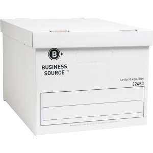 Business Source Quick Setup Med-Duty Storage Box