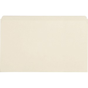 Business Source Straight Cut 1-ply Legal-size File Folders