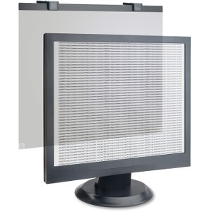 Compucessory Tempered Glass Security Glare Filter