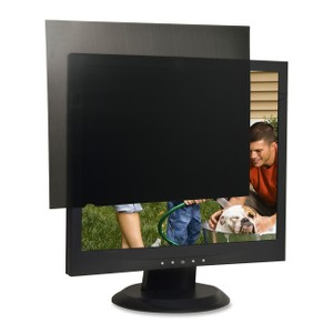 "Compucessory 17"" LCD Monitor Privacy Filter Black"