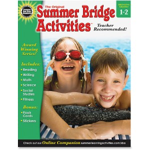 Summer Bridge Ages 6-8 Activities Workbook Activity Printed Book - English