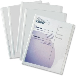 C-Line Economy Report Cover with Binding Bars