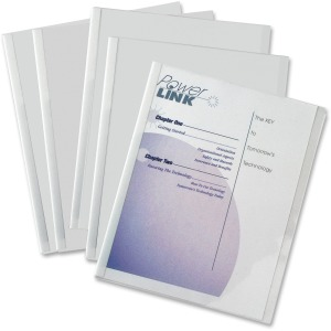 C-Line Report Cover with Binding Bars