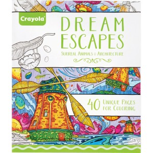Crayola Dream Escapes Coloring Book