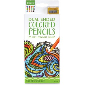 Crayola Dual-ended Colored Pencils