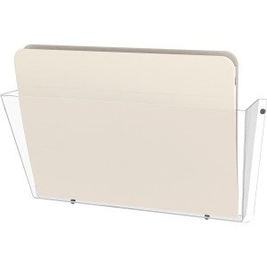 deflecto Unbreakable Plastic Wall Pockets