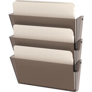 deflecto Unbreakable 3-Pocket Wall Set