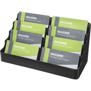 deflecto 4-Tier Business Card Holder